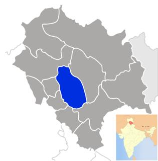 Mandi district District of Himachal Pradesh in India