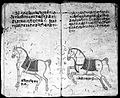 Hindi Manuscript 191, fols. 17 verso, 18 recto Wellcome L0024210.jpg