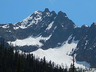 Hinkhouse Peak mountain in Washington, United States of America