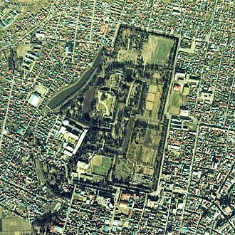 Hirosaki Castle - Aerial photograph