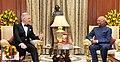 His Majesty The King Philippe of Belgium calling on the President, Shri Ram Nath Kovind, at Rashtrapati Bhavan, in New Delhi on November 07, 2017.jpg