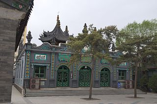 A mosque in Inner Mongolia