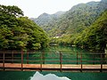 Hokigawa Dam lake.jpg