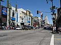 Hollywood Blvd. ^ Orange Dr. road crossing - panoramio.jpg