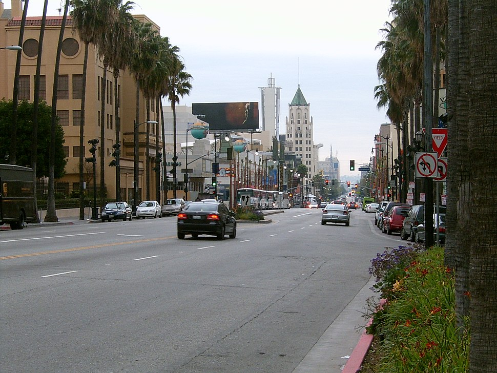 The intersection of Hollywood and Highland, 2006