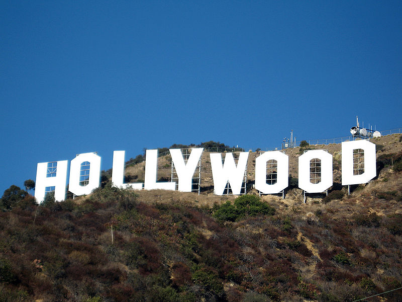 study to be a nail tech in a place where you can see the hollywood sign