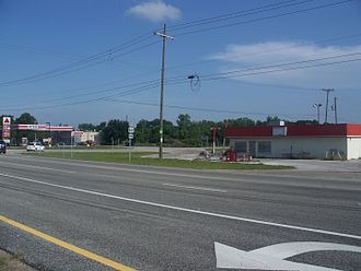 U.S. Route 441 in Florida - U.S. 441/U.S. 192 intersection in Holopaw
