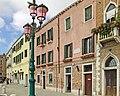 Home of Luigi Nono, Zattere al ponte Longo, Dorsoduro, Venice, Italy - 20080614.jpg