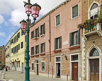 Luigi Nono - Zattere al ponte Longo—Dorsoduro, the house in Venice where Luigi Nono was born.