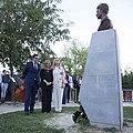 Homenaje a Miguel Ángel Blanco en los jardines que llevan su nombre 08.jpg