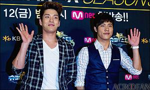 Homme (band) - Superstar K3 premier red carpet, August 2011.