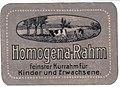 Homogena-Rahm, Reklamemarke.jpg