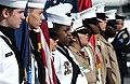 Honor guards from U.S. Naval Sea Cadets Spruance Division and Stranahan High School Marine Corps Junior Reserve Officer Training Corps.jpg