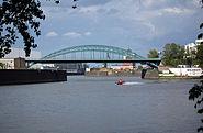Honsellbrücke Osthafen Ffm