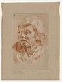 Hoofd van een vrouw, circa 1712 - circa 1799, Groeningemuseum, 0040244000.jpg