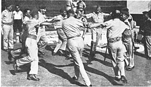 Dance in Israel - Israeli soldiers dancing the Hora in 1948.