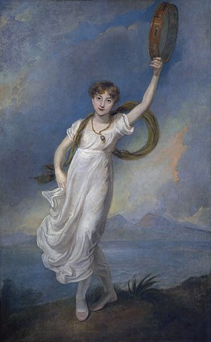 Horatia Nelson - Horatia Nelson, circa 1815