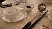 Hot pot en el restaurante Tack Hsin (1376135161) Tsim Sha Tsui, Yau Tsim Mong, Hong Kong.jpg