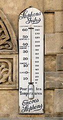 Old Style Thermometer