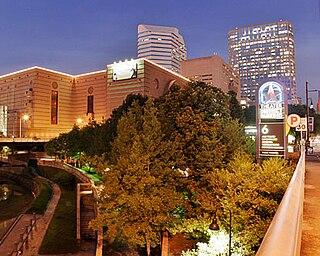 Houston Theater District Neighborhood of Houston in Harris County, Texas, United States