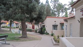House of Pacific Relations International Cottages - Several of the cottages in 2009