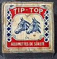 Household products, Tip-Top, Allumettes de Sûreté.JPG