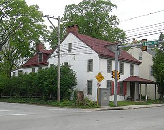 Hovenden House, Barn and Abolition Hall United States historic place