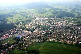 Hronov Town in Hradec Králové, Czech Republic