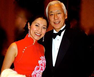 Oscar Tang - Oscar Tang and his wife Agnes Hsu -Tang at the NY Philharmonic Chinese New Year gala in 2013