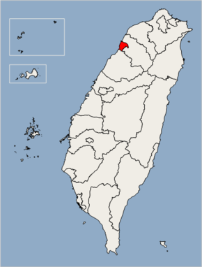 Hsinchu City Location Map.png