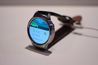 Huawei Watch - Image: Huawei Watch (16948546718)