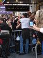 Hugh Jackman signing autographs.JPG