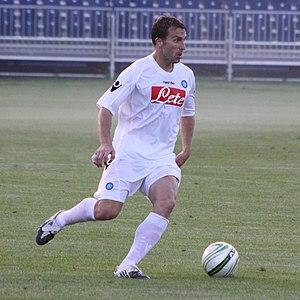Hugo Campagnaro - Campganaro in action with Napoli in 2009
