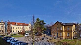 Sonnenstein Euthanasia Centre - House 16 (left side), Schloss Sonnenstein, as a memorial