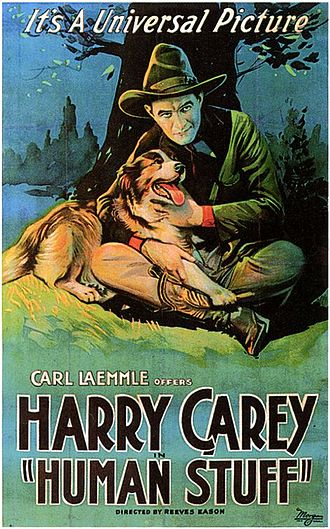 Harry Carey (actor) - Human Stuff (1920).