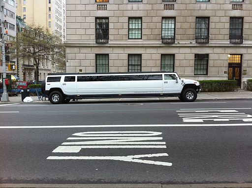 Hummer Limousine in New York