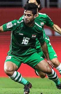 Hussein Ali Al-Saedi Iraqi footballer