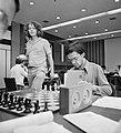 IBM schaaktoernooi, 12e ronde Timman kijkt bij Ribli, Bestanddeelnr 929-8360.jpg