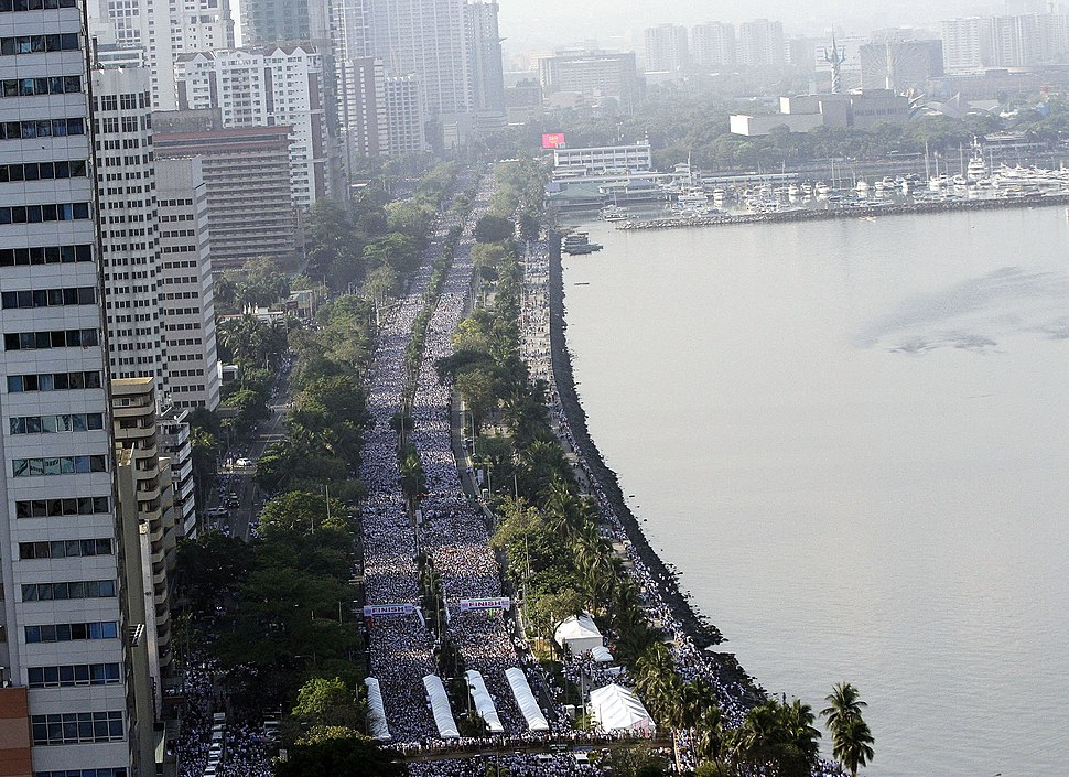 INC Worldwide Walk for Poverty Roxas Boulevard
