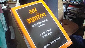 "Nisargadatta Maharaj - Nisargadatta's ""I Am That"" in Hindi."