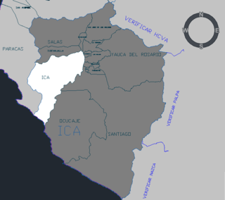 Ica District District in Ica, Peru