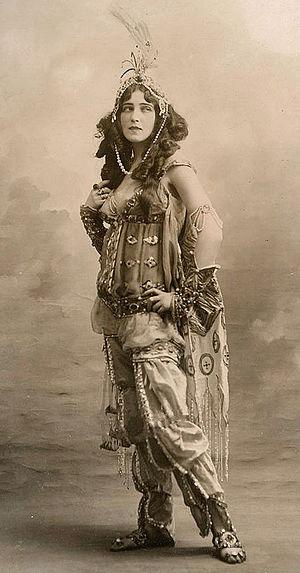Ida Rubinstein - Rubinstein in Rimsky-Korsakov's Scheherazade, 1910