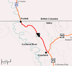 Idaho Highway 1 map.png
