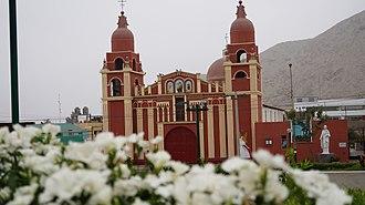 Cieneguilla - The church of Cieneguilla