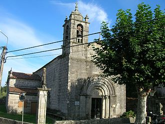 Gondomar, Pontevedra - Image: Igrexa de Santa Baia de Donas, Gondomar