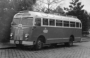 Ikarus Bus - Image: Ikarus IK30 autóbusz, az ezredik. Fortepan 26332