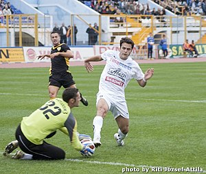 SR Brașov - Gloria Bistriţa-FC Braşov in 2010.