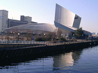 Trafford - The Imperial War Museum North in Trafford Park