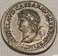 Impero, claudio, sesterzio in oricalco (lione), 42-43 dc.JPG