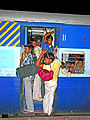 India-6032 - Train Leaving the Station. - Flickr - archer10 (Dennis).jpg